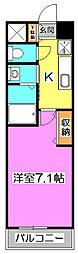 HILLS Y 〜ヒルズ ワイ〜[8階]の間取り