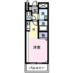 ファインD[2階]の間取り