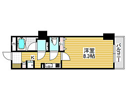 セントラル堺東[3階]の間取り