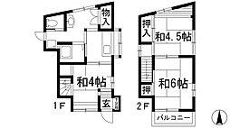 [テラスハウス] 兵庫県宝塚市泉町 の賃貸【/】の間取り