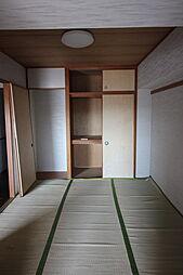 和室 4.5畳押入れ付きです。