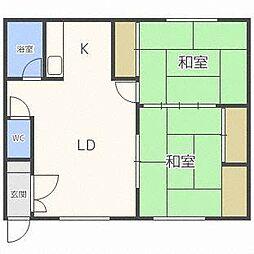 東栄ハウス[2階]の間取り