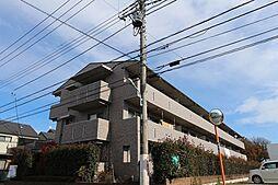 東京都東久留米市南町3丁目の賃貸マンションの外観