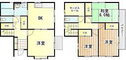 [一戸建] 神奈川県川崎市麻生区高石5丁目 の賃貸【/】の間取り