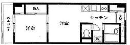 メゾン吉田[2階]の間取り