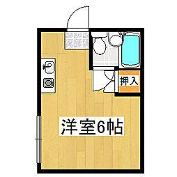 プレアール伏見桃山2[205号室]の間取り