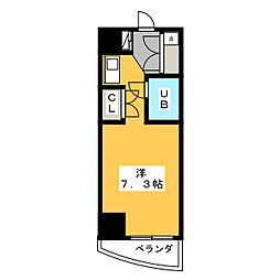 サンリヴァーメゾン[7階]の間取り