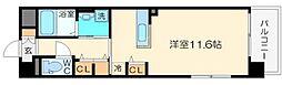 ルミナス上新庄[3階]の間取り