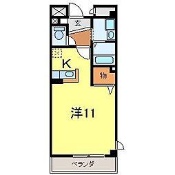 スターブル[2階]の間取り