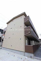 埼玉県草加市吉町2の賃貸アパートの外観