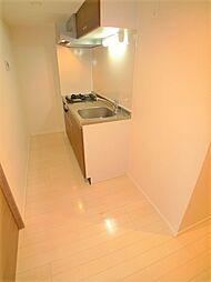 スカイコート板橋本町のキッチン・廊下
