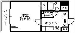 ソナーレ湘南台[3階]の間取り