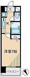 ガラ・シティ茗荷谷[1階]の間取り