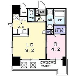 仮)多の津4丁目マンション[1205号室]の間取り