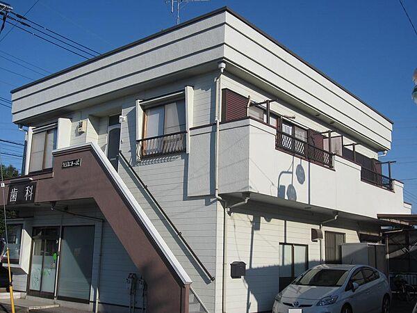矢島コーポ[2階]の外観