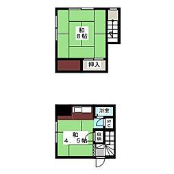 みずほ荘[2階]の間取り