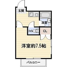 レイクパレスNASUII[203号室]の間取り