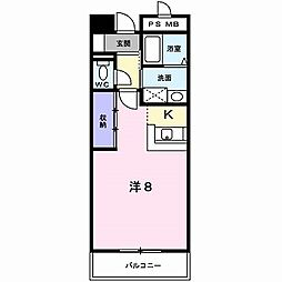 桐谷ビル[2階]の間取り