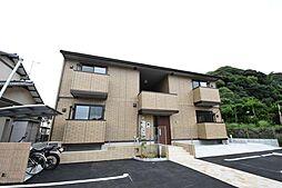 福岡県中間市蓮花寺2丁目の賃貸アパートの外観