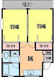 藤井マンション[205号室号室]の間取り
