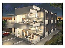 新築アパート TYPE-D[1階]の外観
