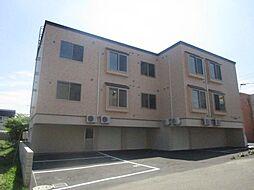 北海道札幌市北区篠路九条1丁目の賃貸アパートの外観
