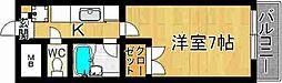 奈良県奈良市餅飯殿町の賃貸マンションの間取り