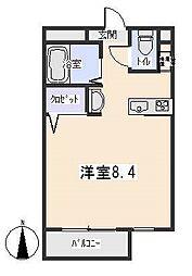 TWIN BUILD[4階]の間取り