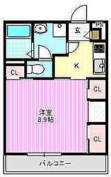 リブリ・KADOMA[3階]の間取り