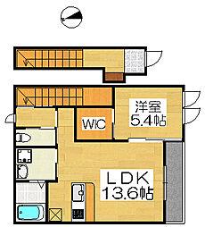 アーバンハイムT&S[2階]の間取り