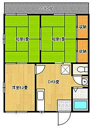 清水ハイツパートII[201号室]の外観