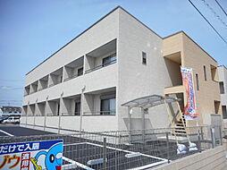 埼玉県東松山市大字毛塚の賃貸アパートの外観