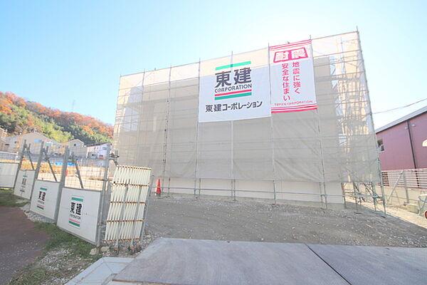 (仮称)生駒市辻町新築アパート[205号室]の外観