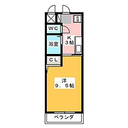 名古屋インターマンション[2階]の間取り