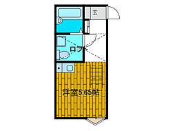 プランドール[1階]の間取り