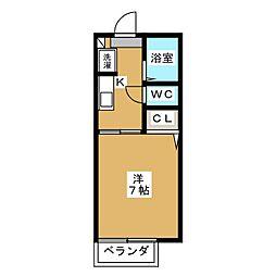 MERVEILLE Y2[2階]の間取り