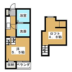 New Life博多駅東[1階]の間取り