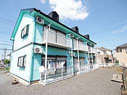 埼玉県川越市大字小室の賃貸アパートの外観