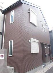 東京都新宿区改代町の賃貸アパートの外観