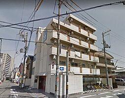 大阪府大阪市東住吉区南田辺1丁目の賃貸マンションの外観