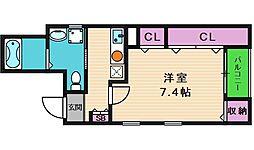 プライスレス真田山[1階]の間取り