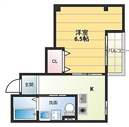第8美和マンション[3階]の間取り