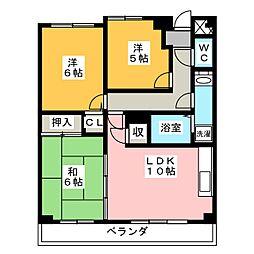 REFREX[3階]の間取り