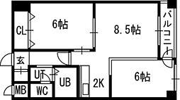 白石駅 4.8万円