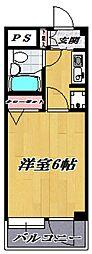 フェリカ宮崎台[205号室号室]の間取り