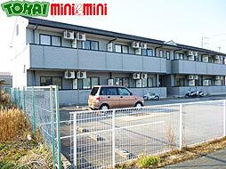 三重県松阪市立田町の賃貸アパートの外観