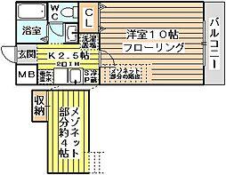サンクチュアリ[1階]の間取り