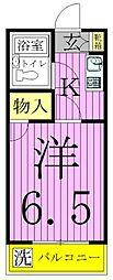 エレガンス綾瀬3[4階]の間取り