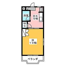 PrstigeI II(プレステージI II)[1階]の間取り