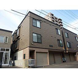 札幌市営東西線 西11丁目駅 徒歩7分の賃貸アパート